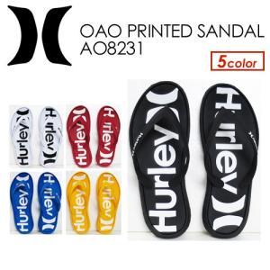 Hurley,ハーレー,O&O,サンダル,18su●Hurley OAO PRINTED SANDAL AO8231|surfer