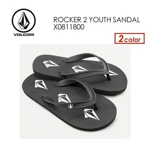 あすつく Volcom ボルコム キッズサンダル 子供用 ビーチサンダル 20ss/Rocker2 Youth Sandals X0811800|surfer