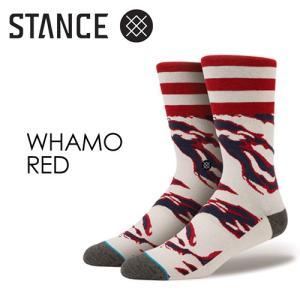 【あすつく対応】STANCE,スタンス,STANCE,SOCKS,ソックス,靴下,15su●WHAMO-RED|surfer