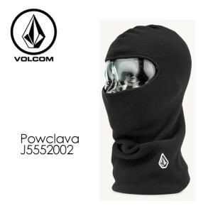 Volcom ボルコム 目出し帽 フェイスウォーマー ニット スノー スキー 防寒 バラクラバ/Powclava J5552002|surfer