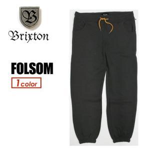 【あすつく対応】BRIXTON ブリクストン スウエット イージーパンツ パンツ●FOLSOM|surfer