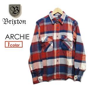 BRIXTON ブリクストン ネルシャツ シャツ 15Ho●ARCHIE|surfer