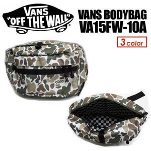 【あすつく対応】VANS バンズ バック ウェストバッグ 鞄 15fw●Vans ボディバッグ VA15FW-12A|surfer