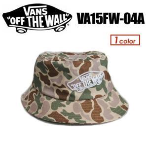 VANS バンズ CAP キャップ HAT ハット●ALL over Camo Bucket hat VA15FW-04A|surfer