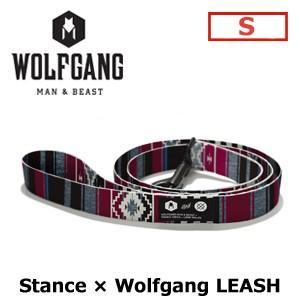 【送料無料】WOLFGANG,MAN&BEAST,ウルフギャング,犬,首輪,ハーネス,リード,USA,サーフィン,スノーボード●Stance Leash サイズ(S)|surfer