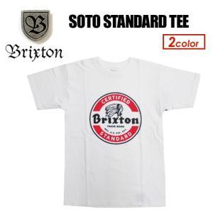 BRIXTON,ブリクストン,Tシャツ,16sp●SOTO STANDARD TEE|surfer