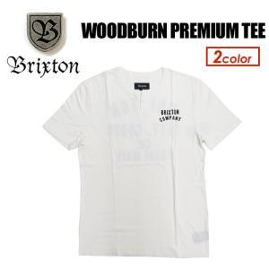 BRIXTON ブリクストン Tシャツ ヘンリーネック 16sp●WOODBURN PREMIUM TEE|surfer