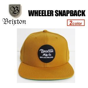 BRIXTON ブリクストン CAP キャップ ハット スナップバック 帽子 17fa/WHEELER SNAP BACK|surfer