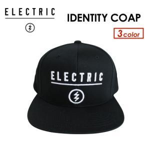 正規代理店 ELECTRIC エレクトリック サングラス CAP キャップ 帽子/IDENTITY COAP HAT|surfer