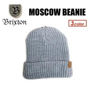 あすつく BRIXTON ブリクストン ビーニー ニット CAP 帽子 16fa sale/MOSCOW BEANIE|surfer