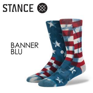 STANCE,スタンス,STANCE,SOCKS,ソックス,靴下●BANNER-BLU|surfer