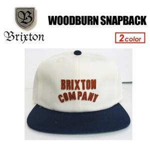 BRIXTON,ブリクストン,CAP,キャップ,帽子,17sp●WOODBURN SNAPBACK|surfer