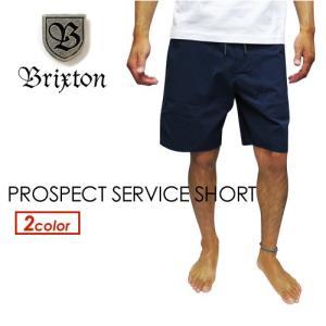 BRIXTON ブリクストン ショートパンツ ショーツ 短パン 17ss●PROSPECT SERVICE SHORT|surfer