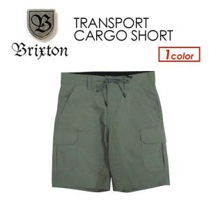 BRIXTON ブリクストン ショートパンツ カーゴ ショーツ 短パン 17ss●TRANSPORT CARGO SHORT|surfer