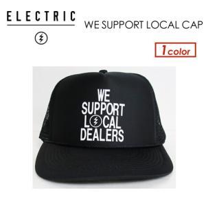 正規代理店 ELECTRIC エレクトリック サングラス CAP キャップ 帽子/WE SUPPORT LOCAL CAP|surfer