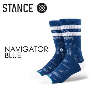 STANCE,スタンス,STANCE,SOCKS,ソックス,靴下●NAVIGATOR-BLUE|surfer