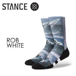 STANCE,スタンス,STANCE,SOCKS,ソックス,靴下●ROB-WHITE|surfer