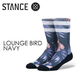 STANCE,スタンス,STANCE,SOCKS,ソックス,靴下●LOUNGE BIRD-NAVY|surfer