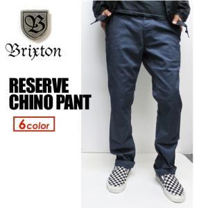 あすつく BRIXTON ブリクストン ボトム パンツ チノパン/RESERVE CHINO PANT|surfer