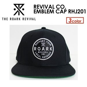 THE ROARK REVIVAL,ロアーク リバイバル,CAP,キャップ●REVIVAL CO. EMBLEM CAP RHJ201|surfer