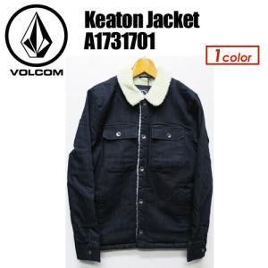 【送料無料】Volcom,ボルコム,アウター,デニム,ボア,ジャケット,17fa●Keaton Jacket A1731701|surfer