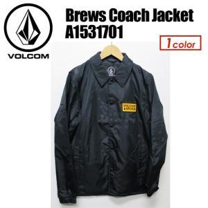 Volcom,ボルコム,アウター,ナイロン,コーチジャケット,17fa●Brews Coach Jacket A1531701|surfer