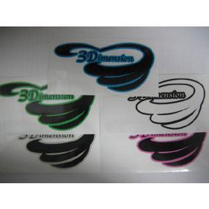 サーフィン,ステッカー,3Dimesion●3Dimension Sticker M|surfer