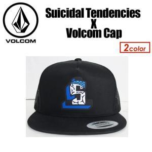 【あすつく対応】Volcom,ボルコム,CAP,キャップ,メッシュキャップ●Suicidal Tendencies X Volcom Cap D64417JA|surfer