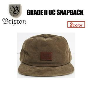 BRIXTON,ブリクストン,キャップ,CAP,帽子,17fa●GRADE II UC SNAPBACK|surfer