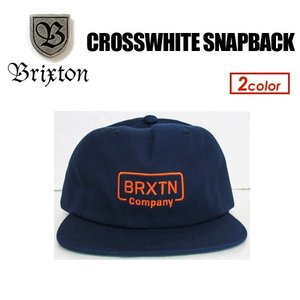 BRIXTON,ブリクストン,キャップ,CAP,帽子,17fa●CROSSWHITE SNAPBACK|surfer