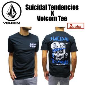 Volcom,ボルコム,Tシャツ,半袖●Suicidal Tendencies X Volcom Tee A35417JA|surfer