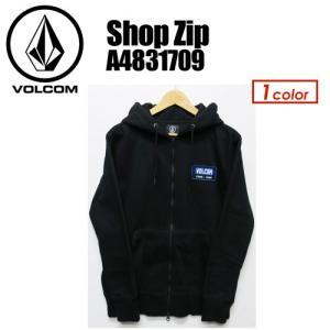 Volcom,ボルコム,スウェット,ジップ,パーカー,長袖●Shop Zip A4831709|surfer