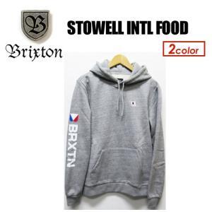 BRIXTON ブリクストン スウェット パーカー 18sp/STOWELL INTL FOOD|surfer