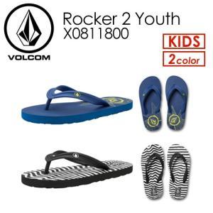【あすつく対応】Volcom,ボルコム,キッズサンダル,子供用,ビーチサンダル,18su●Rocker 2 Youth X0811800|surfer