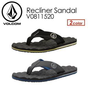あすつく Volcom ボルコム サンダル ビーチサンダル 18sp/Recliner Sandal V0811520|surfer