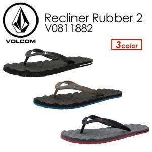 【あすつく対応】Volcom,ボルコム,サンダル,ビーチサンダル,18sp●Recliner Rubber 2 V0811882|surfer