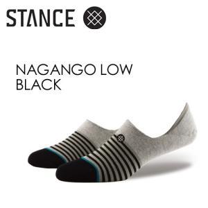 STANCE,スタンス,SOCKS,スニーカーソックス,ソックス,靴下●NAGANGO LOW-BLACK|surfer