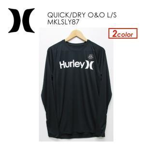 あすつく Hurley ハーレー サーフィン フィットネス ラッシュガード 紫外線対策 長袖/QUICK/DRY O&O L/S MKLSLY87|surfer