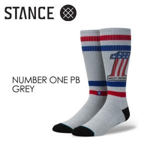 STANCE,スタンス,STANCE,SOCKS,ソックス,靴下●NUMBER ONE PB-GREY|surfer
