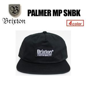 BRIXTON ブリクストン CAP キャップ ハット スナップバック 帽子 18fa/PALMER MP SNBK|surfer