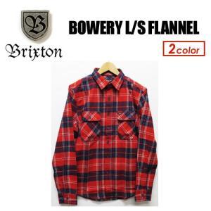 BRIXTON ブリクストン フランネル ネルシャツ シャツ 18fa/BOWERY L/S FLANNEL|surfer
