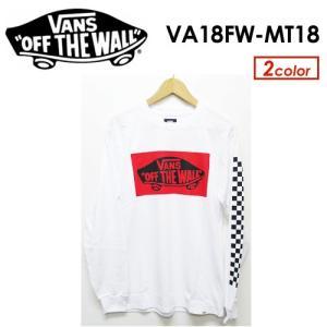 【あすつく対応】VANS,バンズ,Tシャツ,ロンT,長袖●Heel Patch L/S T-Shirt VA18FW-MT18|surfer