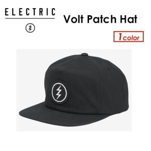 送料無料 正規代理店 ELECTRIC エレクトリック サングラス CAP キャップ 帽子/Volt Patch Hat ED5541705|surfer