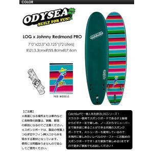 【送料無料】ODYSEA,サーフボード,CATCHSURF,キャッチサーフ,プロシリーズ●LOG JOHNNY REDMOND PRO 7.0 Tri Fin surfer 02