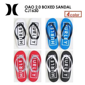 Hurley ハーレー サンダル 19ss/HURLEY OAO 2.0 BOXED SANDAL CJ1630|surfer