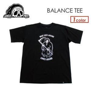あすつく SKETCHY TANK スケッチータンク アパレル 半袖 Tシャツ 19ss/BALANCE TEE|surfer