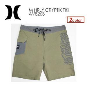 あすつく Hurley ハーレー ボードショーツ サーフトランクス 水着 19ss sale/M HRLY CRYPTIK TIKI AV8263|surfer