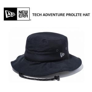 送料無料 NEW ERA ニューエラ OUTDOOR アウトドア HAT ハット 19ss/TECH ADVENTURE PROLITE HAT BLACK 11897295|surfer