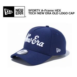 送料無料 NEW ERA ニューエラ GOLF ゴルフ CAP キャップ 19ss/9FORTY A-Frame HEX TECH NEW ERA OLD LOGO CAP LNAVY/WHT 12108683|surfer