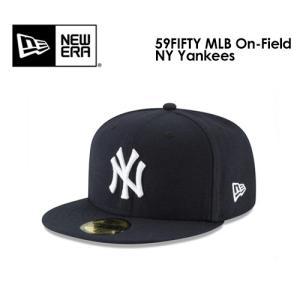 送料無料 NEW ERA ニューエラ CAP 帽子 ニューヨーク・ヤンキース 20ss/59FIFTY MLB On-Field NY Yankees オンフィールドキャップ 11449355|surfer